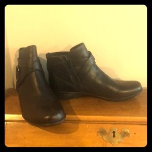 Size 8 Naturalizer Black Boots - New